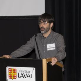 Dr. Laurent Bouyer, directeur du CTRN