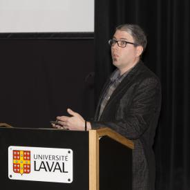 Benoit Labonté, conférencier, chercheur de la relève
